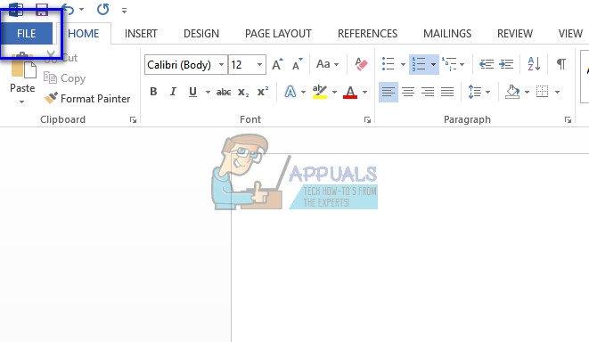 """Cách khắc phục lỗi """"Microsoft Word not Responding"""""""