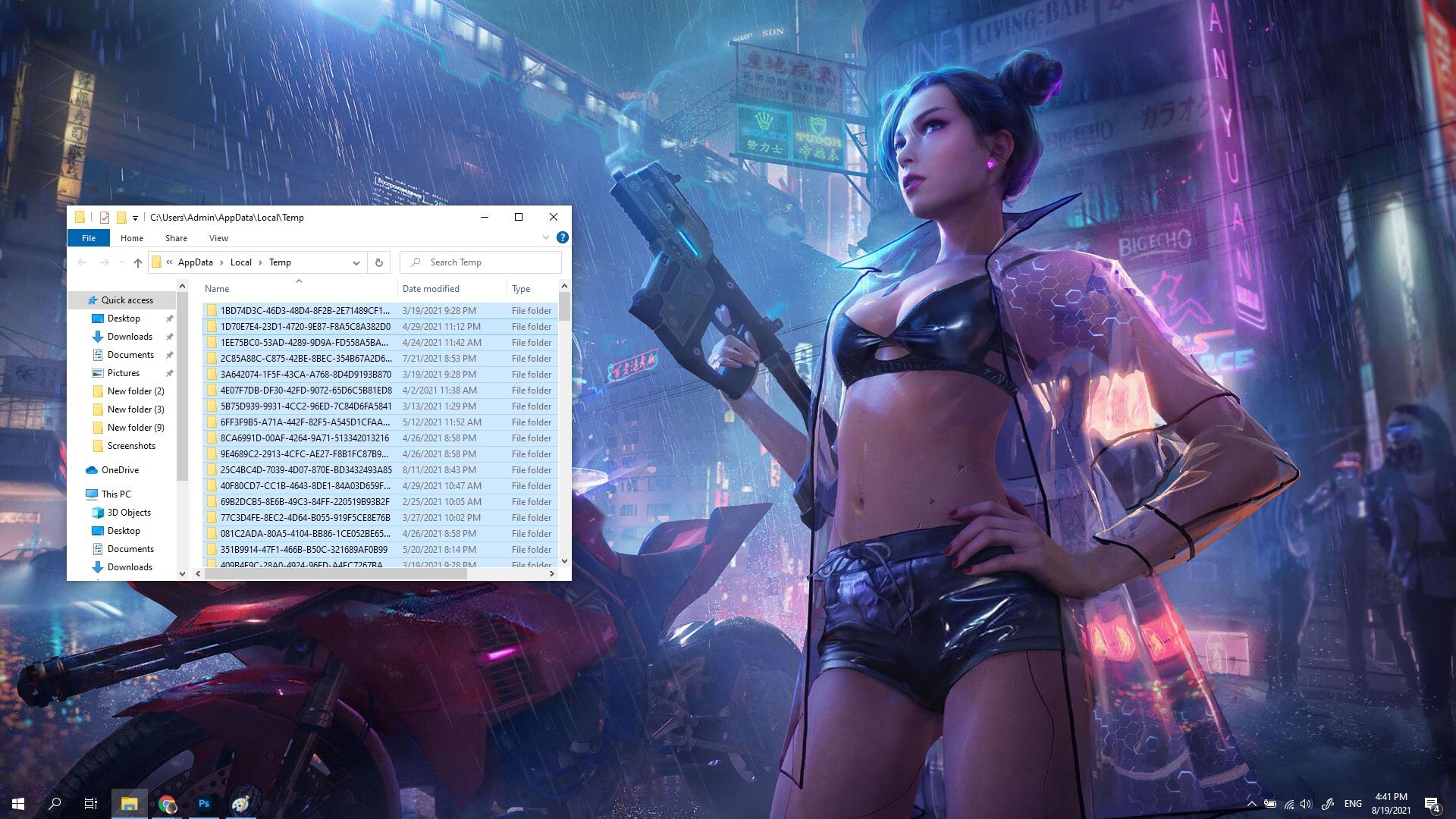 Hướng dẫn xóa file tạm thời trên Windows 10, giải phóng dung lượng ổ cứng cho máy tính